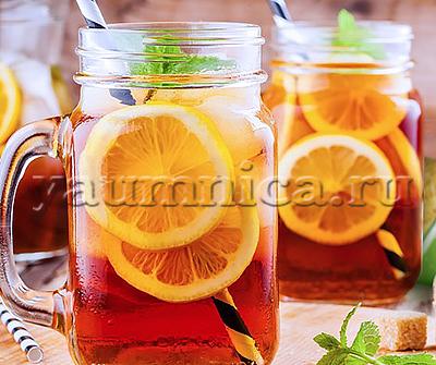 освежающий напиток с лимоном рецепт