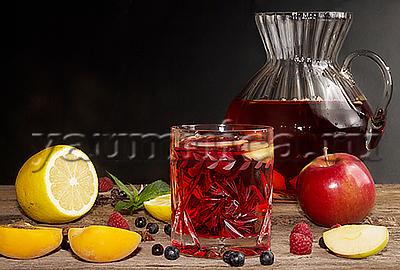 тонизирующий напиток с черникой рецепт
