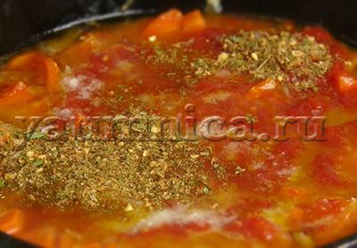 рагу с фрикадельками пошаговый рецепт