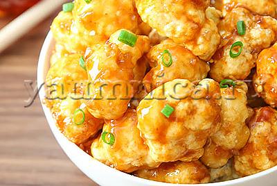 Цветная капуста запеченная с медом рецепт