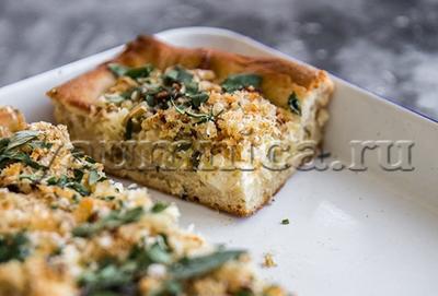 Пирог с цветной капустой и рикоттой рецепт