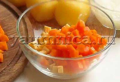 салат селедка под шубой с сыром рецепт