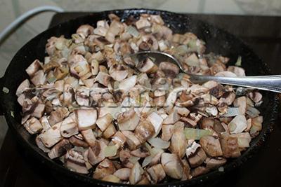 мясной пирог с грибами рецепт