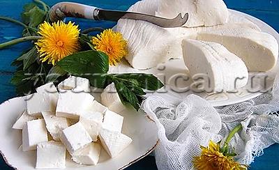 сыр панир рецепт