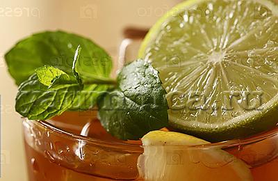 Холодный чай с мятой и лаймом рецепт