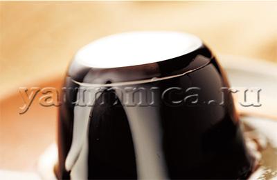 Кофейное желе рецепт