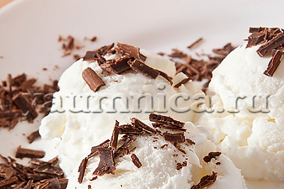 сливочно-бананово-шоколадное мороженое рецепт