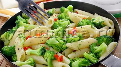 овощное рагу с макаронами простой рецепт