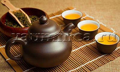 свежий заваренный чай
