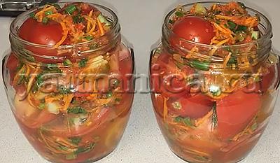рецепт помидор