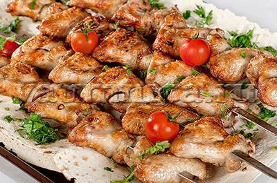 шашлыки из курицы рецепты