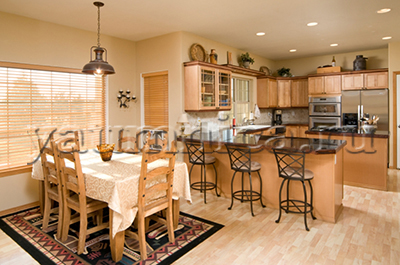 как создать интерьер кухни столовой