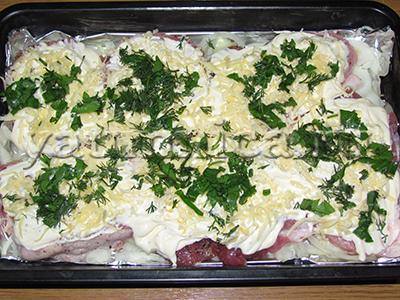 рецепт свинины по французски в духовке