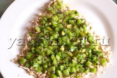 салат с киви рецепты