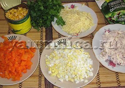вкусный салат рецепты