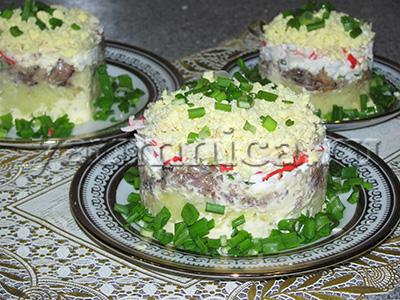 вкусный салат с крабовыми палочками рецепт