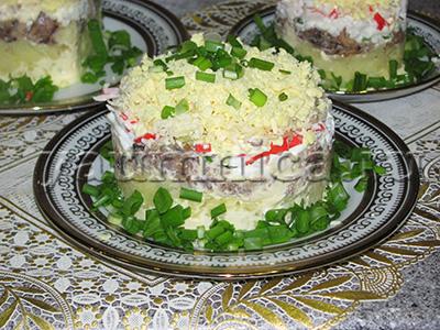 салат с крабовыми палочками рецепты