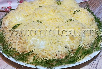 Салат с копченой курицей рецепты