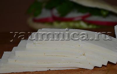 рецепты салатов с сыром