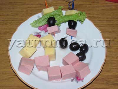 канапе рецепты с фото