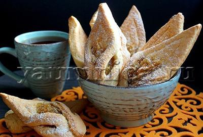 вкусное домашнее печенье с яблоками рецепт