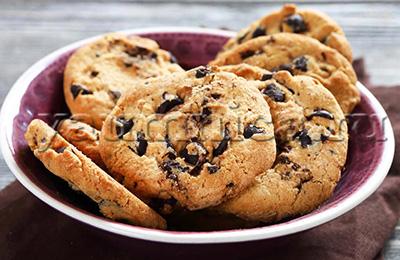 песочное печенье с шоколадом рецепт