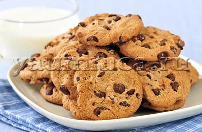 печенье с шоколадом рецепт