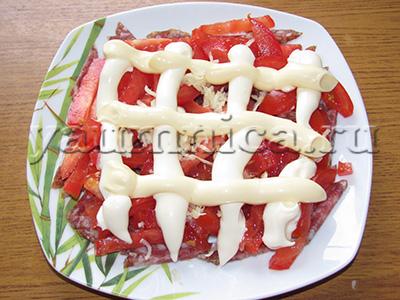 салат с майонезом рецепты