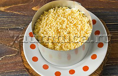 мимоза салат с консервой пошаговый рецепт