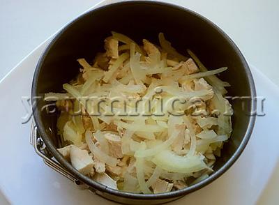 салат с куриным филе рецепт