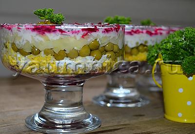 простой овощной салат рецепт