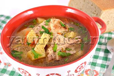 суп со свининой рецепты