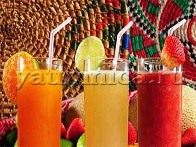 рецепты фруктовых напитков
