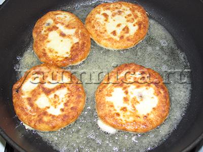 сырники из творога на сковороде рецепт