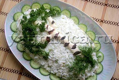 салат береза рецепт
