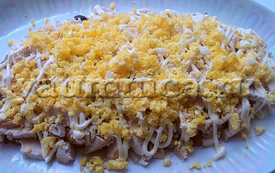 салат с яйцами рецепты