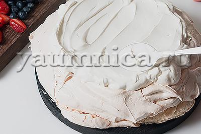 торт безе пошагово