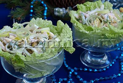 салат с курицей рецепты