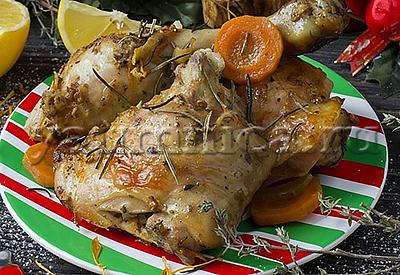 курица в рукаве рецепт