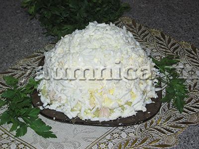 салат невеста рецепт