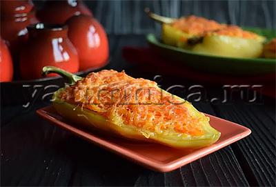 фаршированный перец рецепт с фото