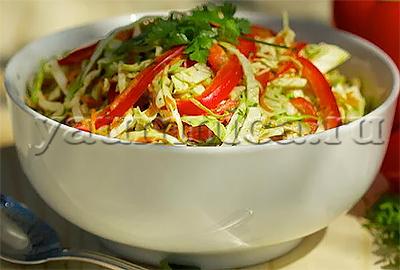 вкусные салаты с капустой рецепты с фото