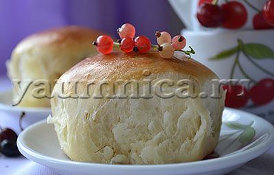 рецепт дрожжевых булочек