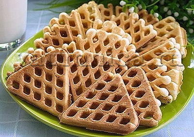 рецепт вафель