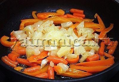 жареные овощи рецепт