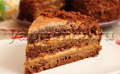 торт на кефире рецепт