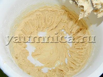 бисквитный тесто