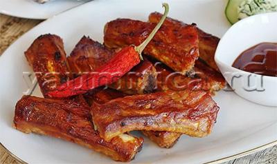 свиные ребрышки рецепт
