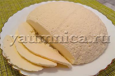 рецепт домашнего сыра