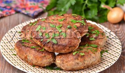 гречаники с фаршем рецепт